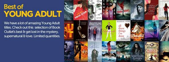 Book Outlet for Young Adults