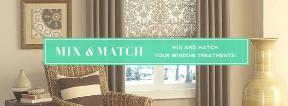 Blinds.com Mix and Match