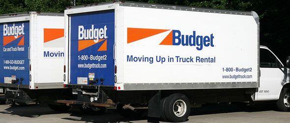 Budget Truck Rental Moving Vans