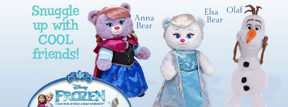 Build-A-Bear Frozen Toys