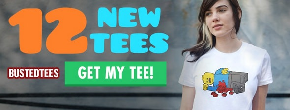 BustedTees T shirts with a Twist
