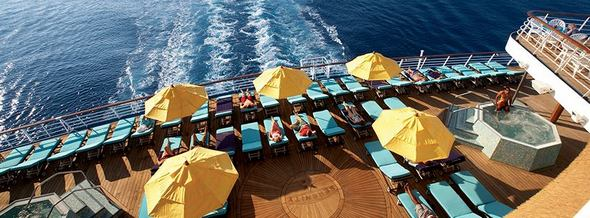 Carnival Cruise Loungers