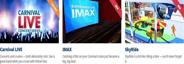 Carnival Cruise Entertainment