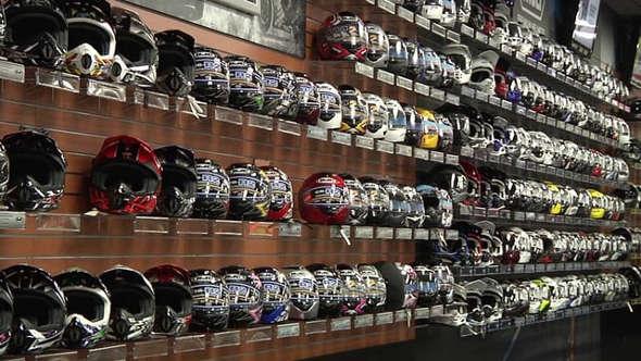 Chaparral Motorsports Helmets