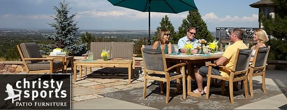 Christy Sports Outdoor Furniture