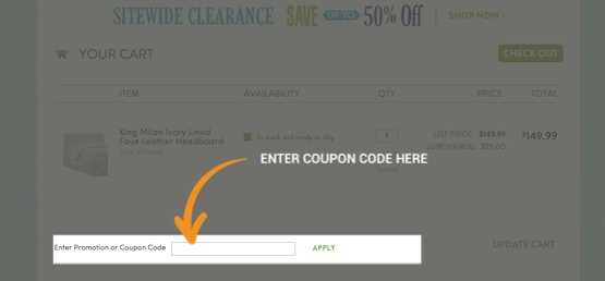 Christmas Tree Shop Coupon Redemption