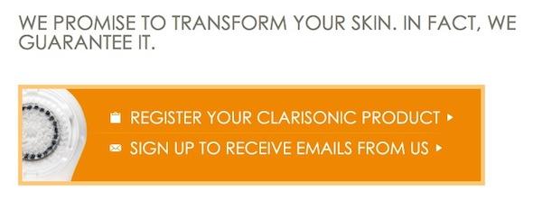 Clarisonic Customer Satisfaction