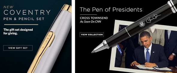 Cross Quality Pens
