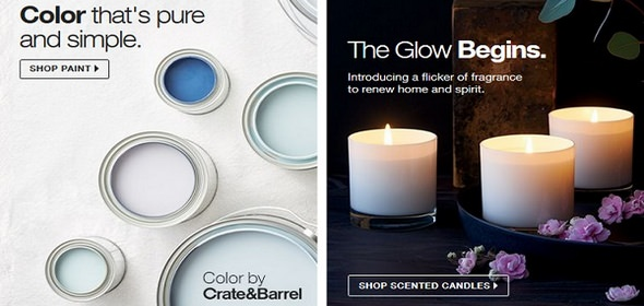 Crate and Barrel Home Solutions