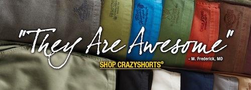 Crazy Shirts Shorts