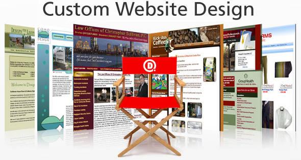 Domain.com Custom Website Design