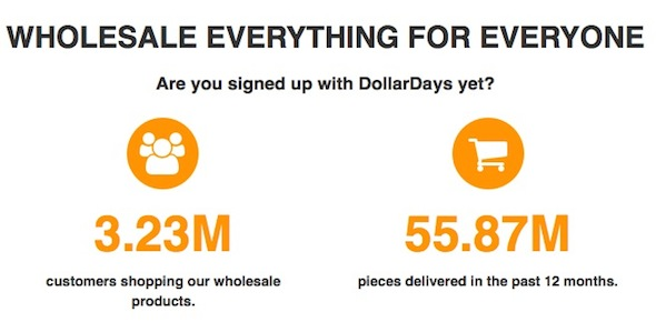 Dollar Days Ad