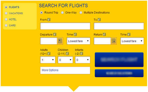 eDreams Search Flights