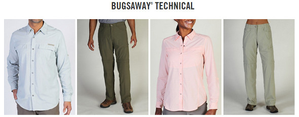 ExOfficio Bugsaway Insect Repellant Clothing