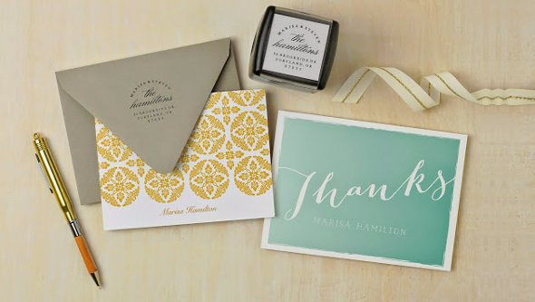 Expressionery Thank You Card