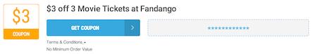 Fandango Offer Terms