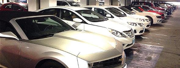 Fox Rent a Car Cars