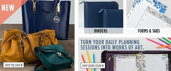 Franklin Planner Bags and Binders