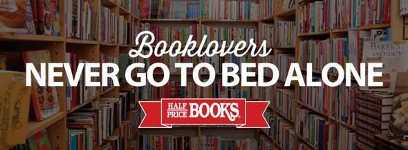 Half Price Books for Book Lovers