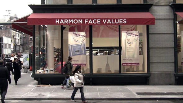 Harmon Face Values Storefront