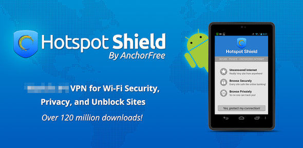 Hotspot Shield Wi-Fi Security