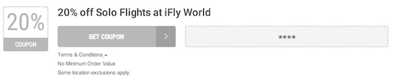 iFly World Offer Terms