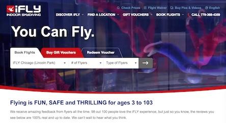 iFly World Website