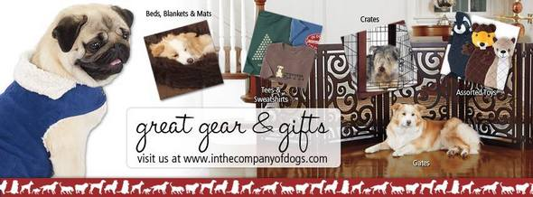 In The Company Of Dogs Pet Gear and Gifts