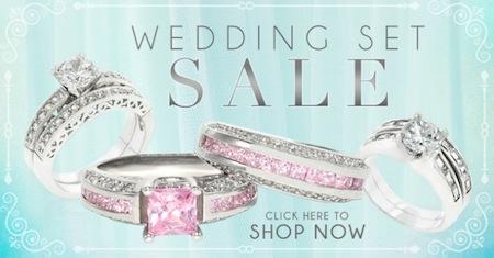 Inspired Silver Wedding Set