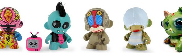 Kidrobot Limited Edition Pieces