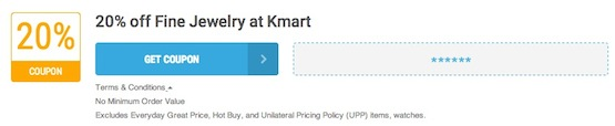 Kmart Offer Terms