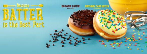 Krispy Kreme Delicious Treats