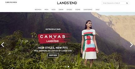 Lands' End Website