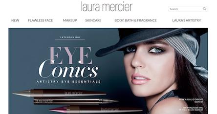 Laura Mercier Website