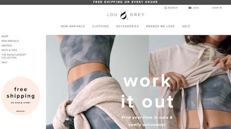 Lou & Grey Website