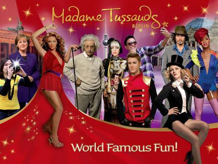 Madame Tussauds Wax Figures