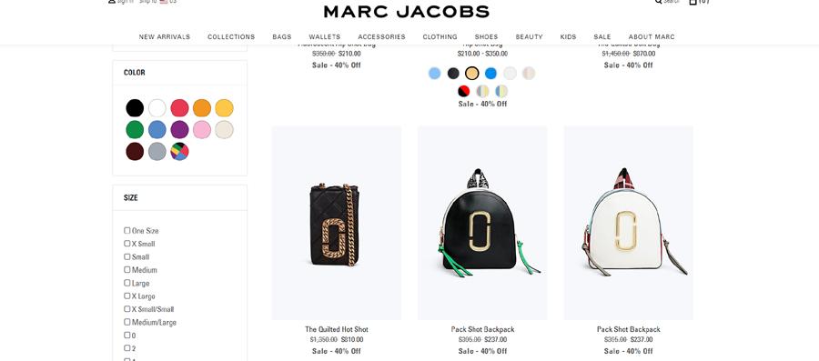 Marc Jacobs Promo Code