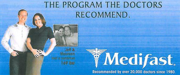 Medifast Testimonial