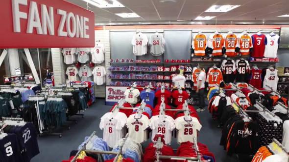 Modell's Sporting Goods Store Fan Zone