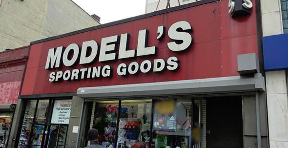 Modell's Sporting Goods Storefront