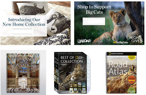 National Geographic Products