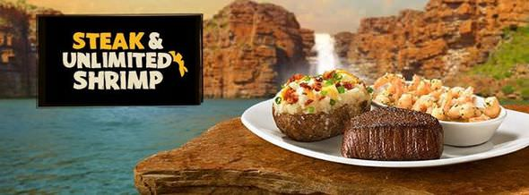 Outback Shrimps and Steaks