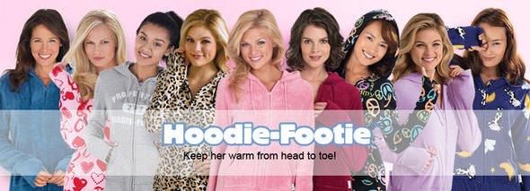 PajamaGram HoodieFooties