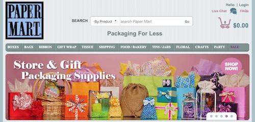 Paper Mart Website