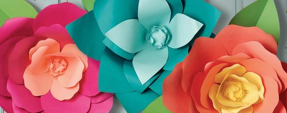 Paper Source Flower Art