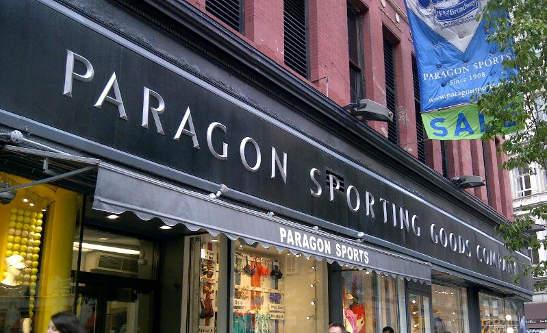 Paragon Sports Storefront