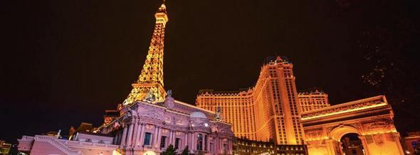 Paris Las Vegas Frontage