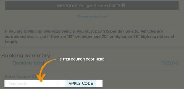 ParkWhiz coupon