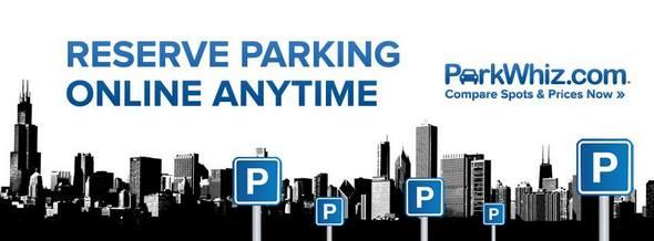 ParkWhiz Online Parking Reservation