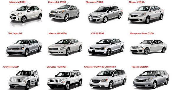 Payless Car Rental Fleet